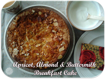 apricot, almond & buttermilk breakfast cake