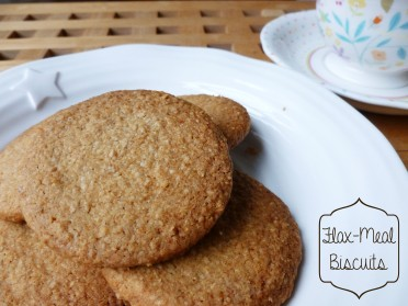 flax-meal biscuits