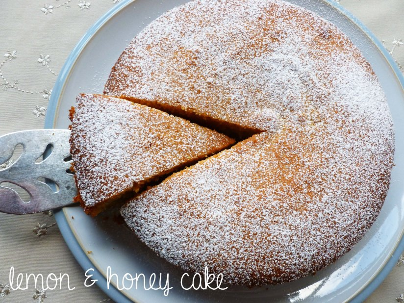 lemon & honey cake