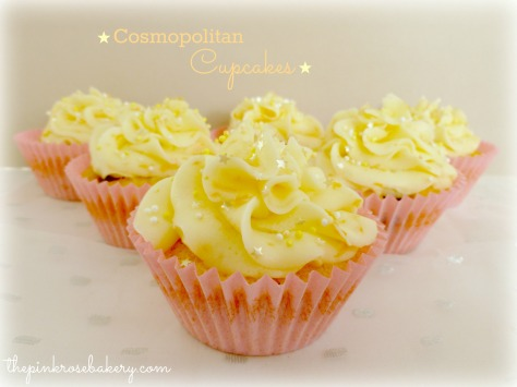 Cosmo Cupcakes - Main