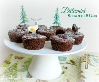 Mini Bittermint Brownies
