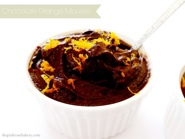 Chocolate Orange Mousse Main - The Pink Rose Bakery
