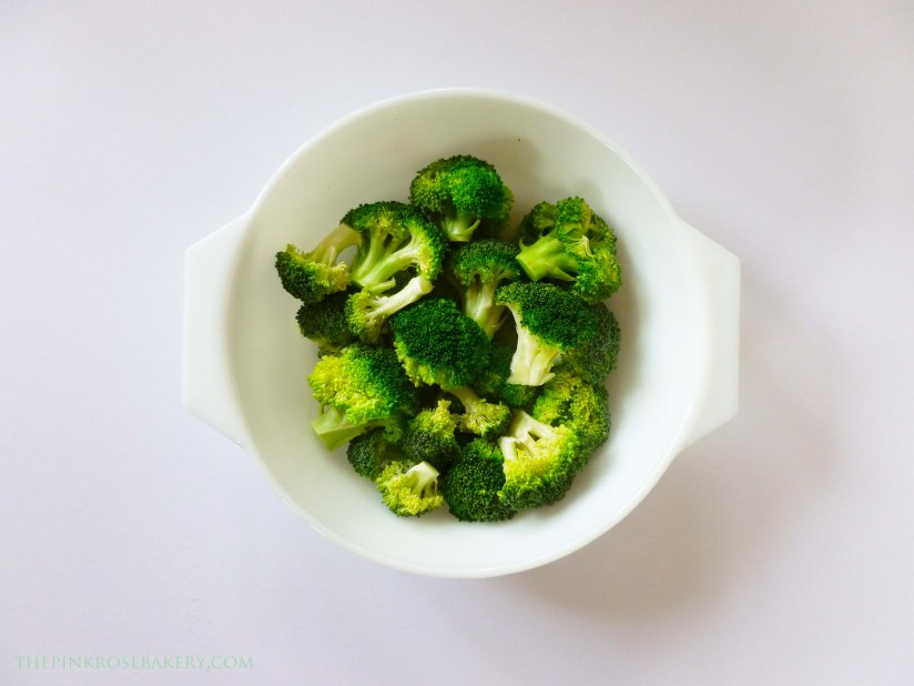 Broccoli  - The Pink Rose Bakery