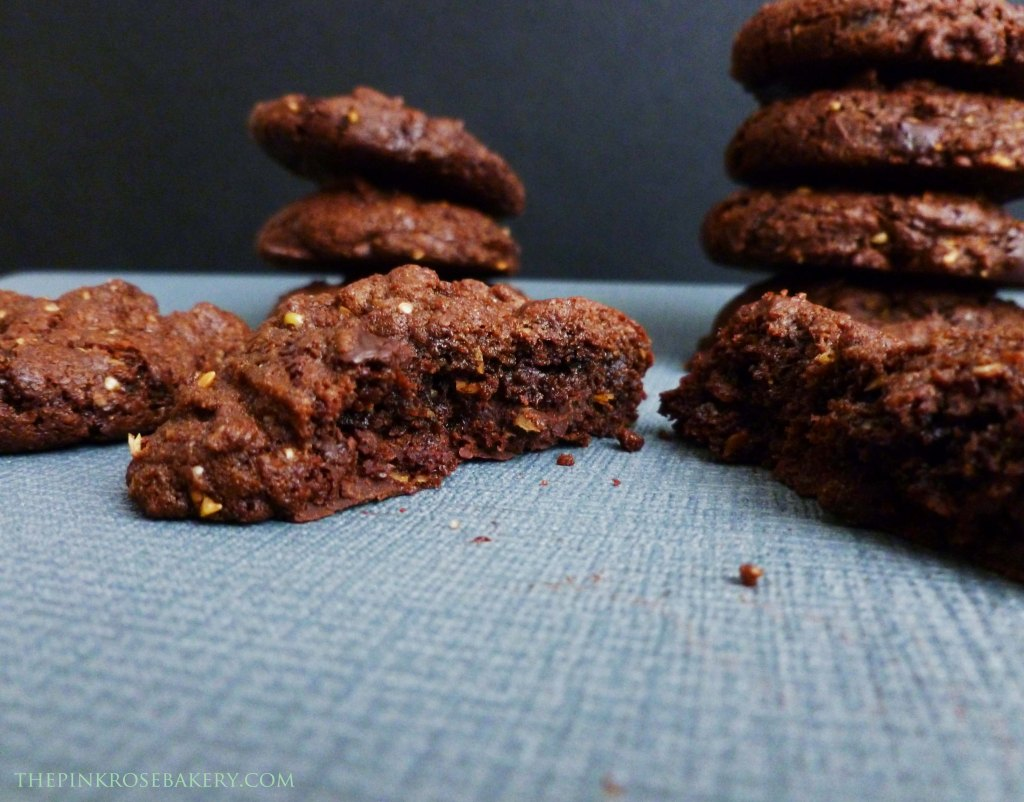 Double Chocolate Cookies 1 - The Pink Rose Bakery
