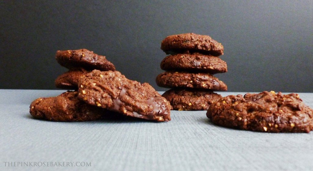 Double Chocolate Cookies 4 - The Pink Rose Bakery