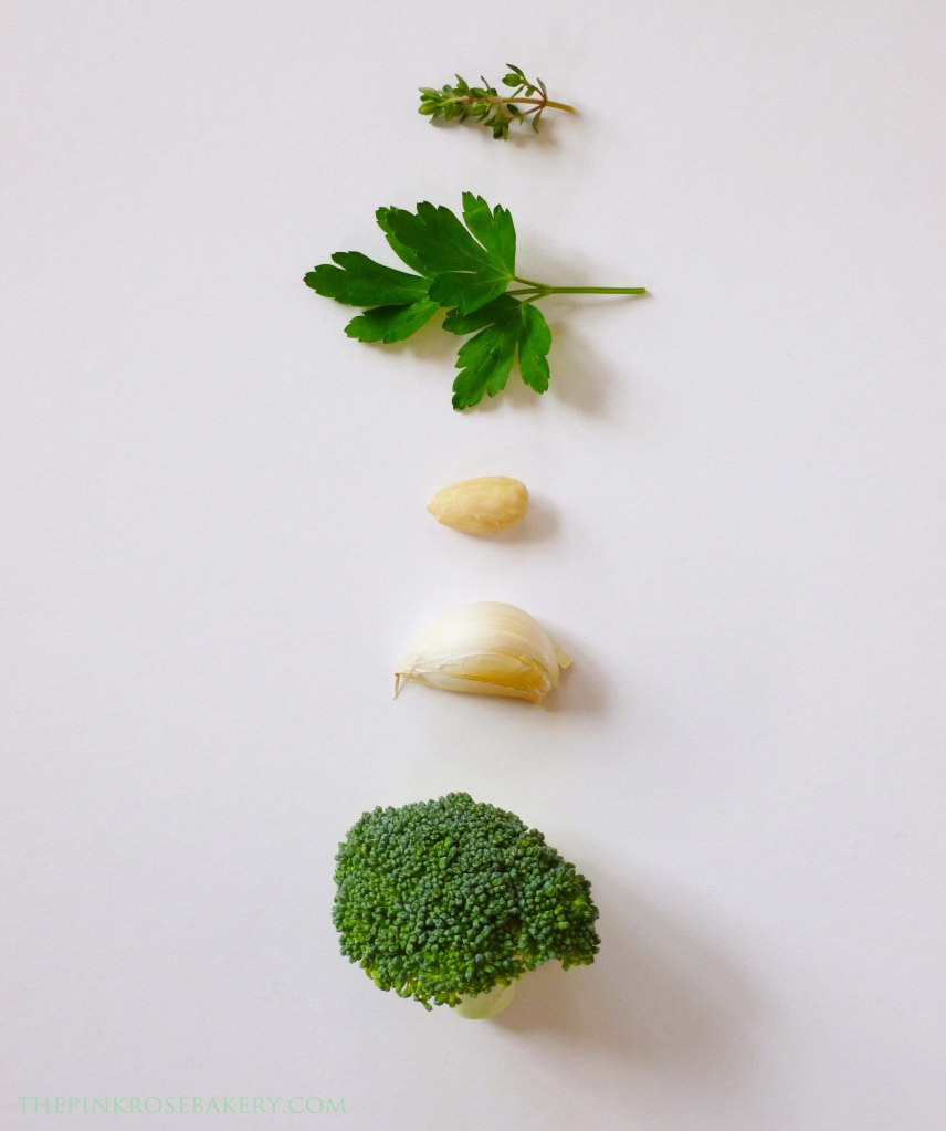 Pesto Ingredients - The Pink Rose Bakery
