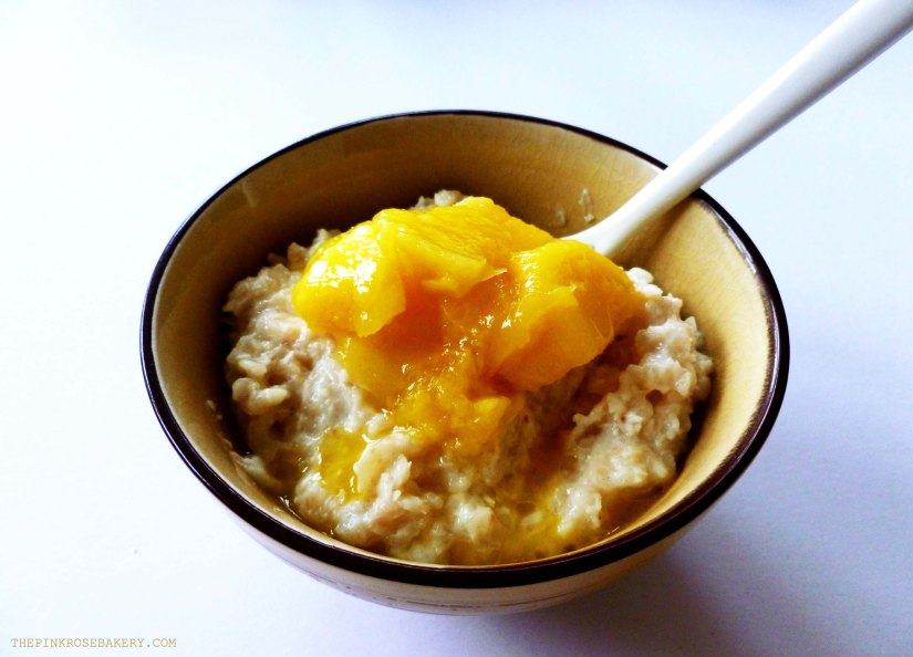 Mango & Coconut Rice Breakfast Bowl 2 - The Pink Rose Bakery