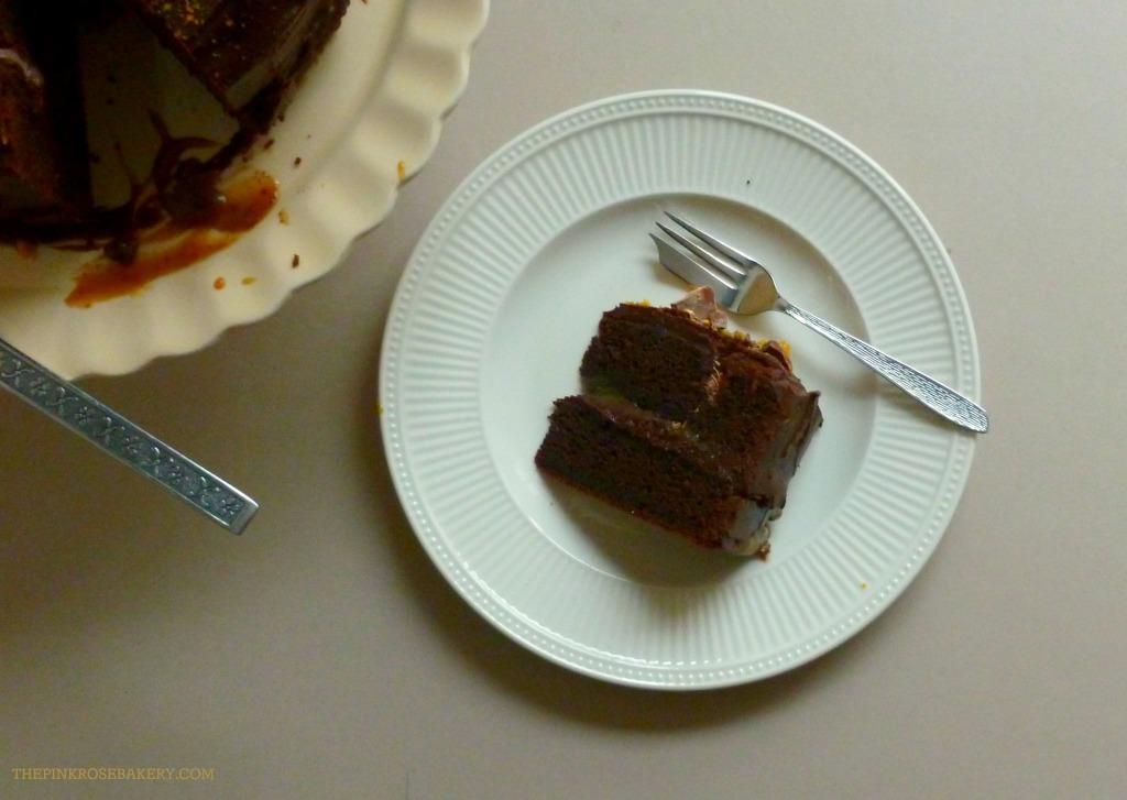 BIrthday Cake 6 - The Pink Rose Bakery