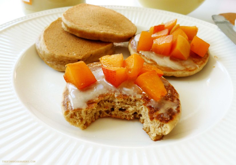 Buckwheat Drop Scones with Apricots & Honey 2 - The Pink Rose Bakery
