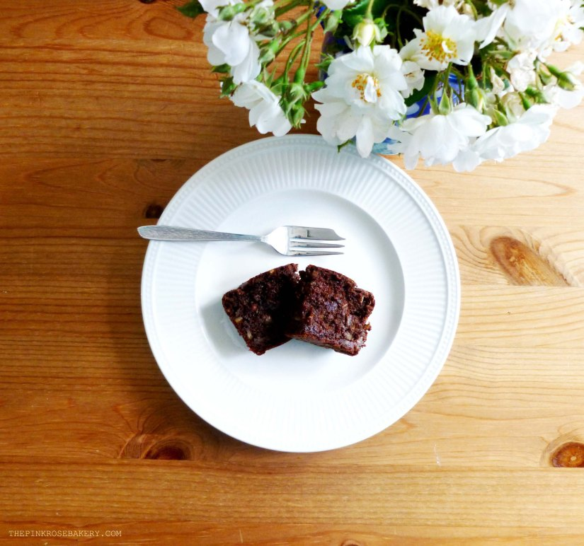 Chocolate Brownie Banana Loaf 2 - The Pink Rose Bakery