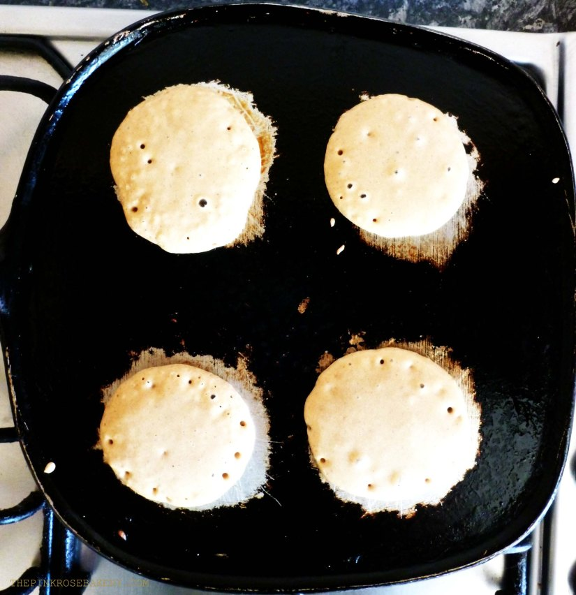 Drop Scones in the Making - The Pink Rose Bakery