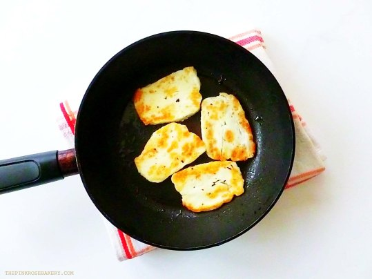 Halloumi - The Pink Rose Bakery