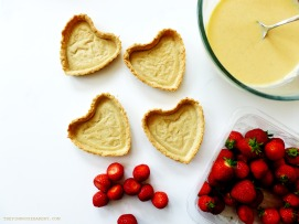 Strawberry Tarts 2 - The Pink Rose Bakery