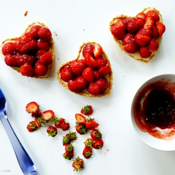 Strawberry Tarts 4 - The Pink Rose Bakery