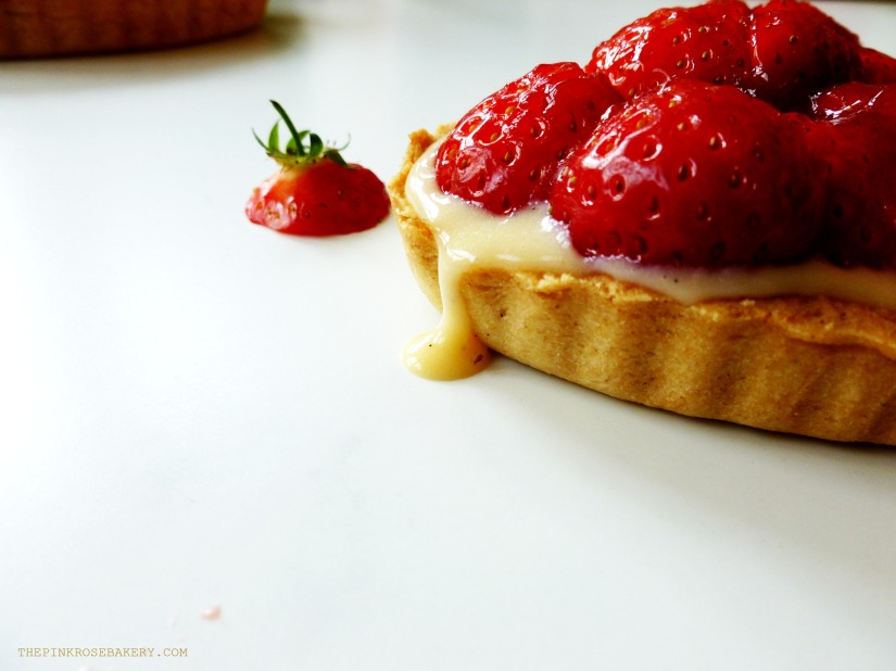 Strawberry Tarts 6 - The Pink Rose Bakery