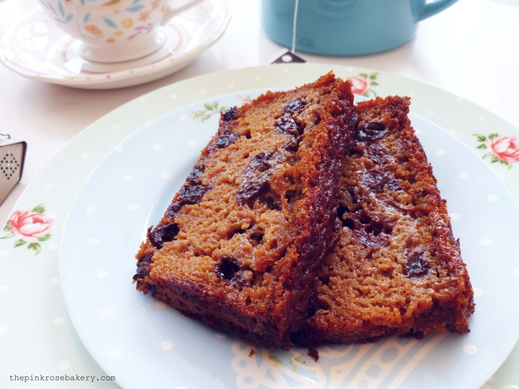 darjeeling tea loaf 2 - The Pink Rose Bakery