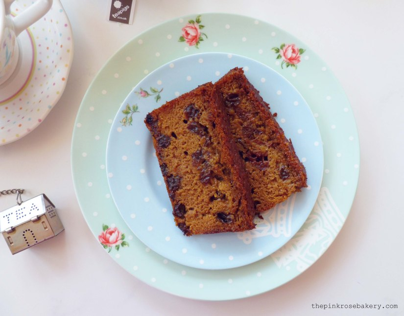 darjeeling tea loaf 3 - The Pink Rose Bakery