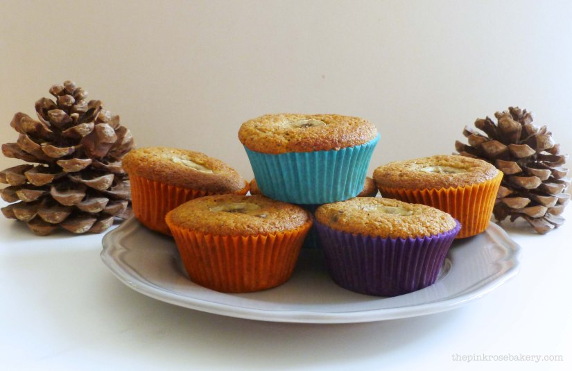 autumnal muffins 1 - the pink rose bakery