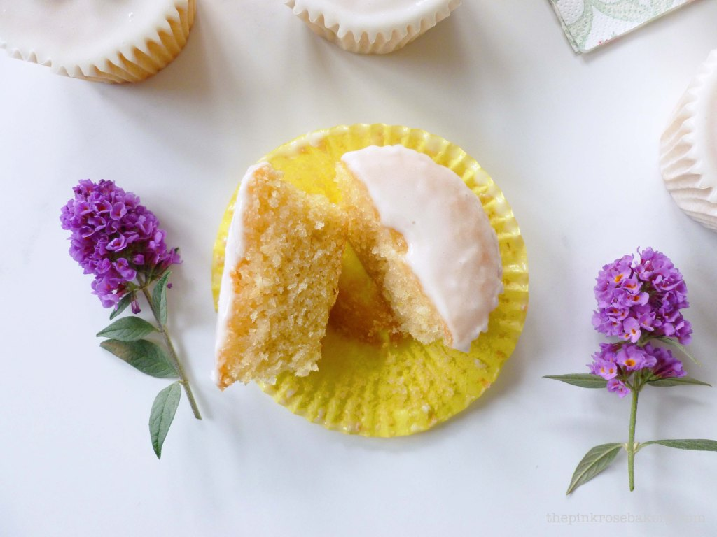 lemon cupcakes 2 - the pink rose bakery