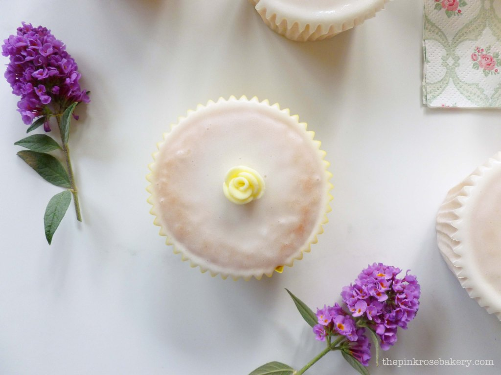 lemon cupcakes 3 - the pink rose bakery