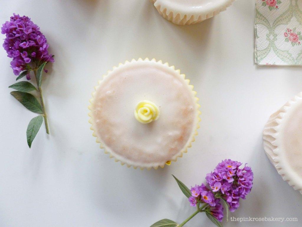 lemon cupcakes 3 - the pink rose bakery