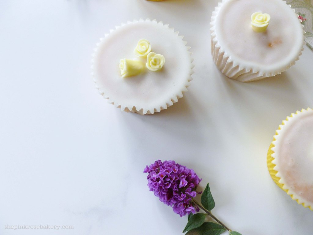 lemon cupcakes 5 - the pink rose bakery