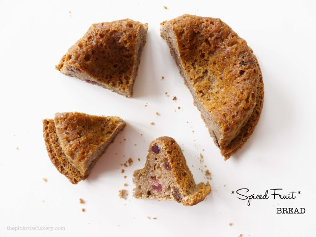 spiced fruit bread main - the pink rose bakery