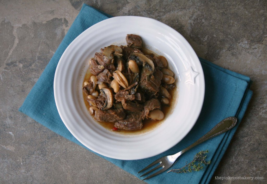 beef stew with chocolate 1 - the pink rose bakery