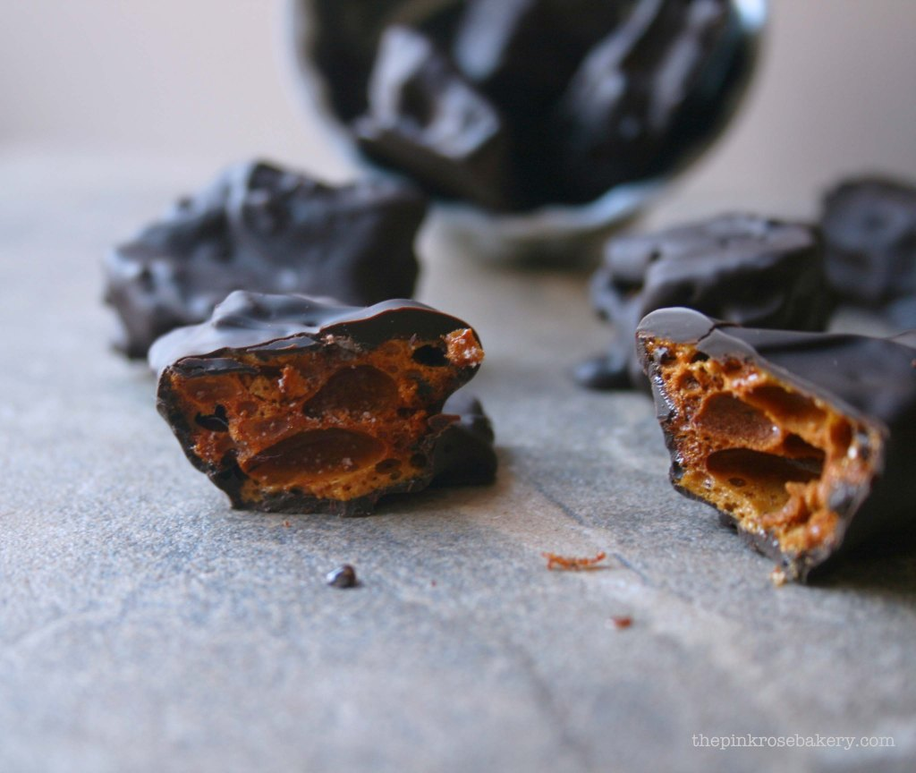chocolate honeycomb 1 - the pink rose bakery