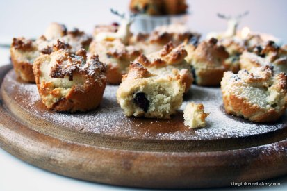 Almond Cranberry Financiers