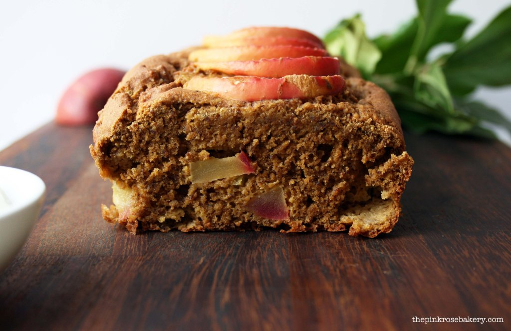 apple cinnamon loaf 2 - the pink rose bakery