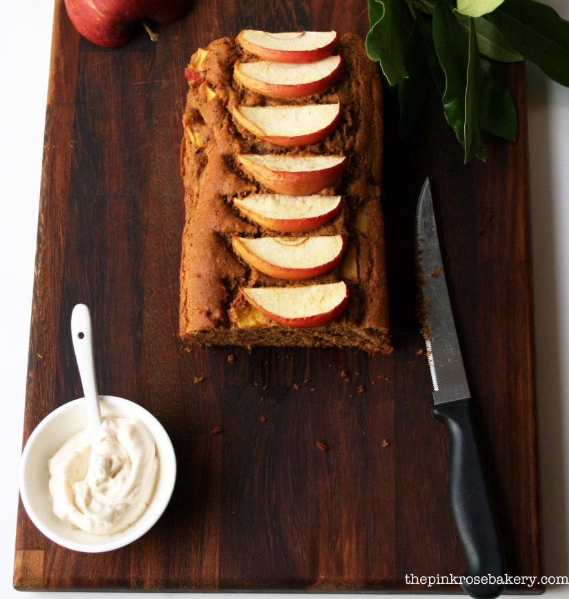 apple cinnamon loaf 3 - the pink rose bakery