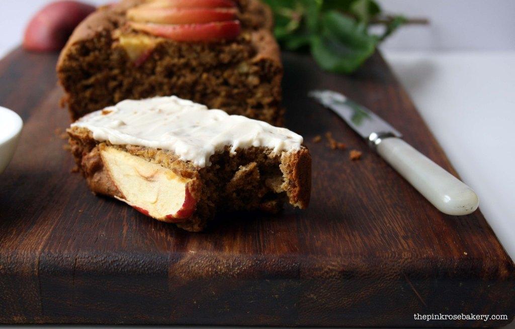 apple cinnamon loaf 4 - the pink rose bakery