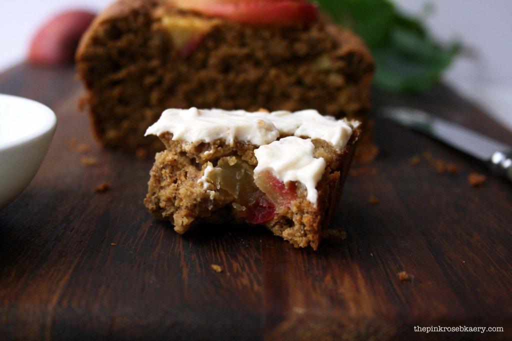 apple cinnamon loaf 5 - the pink rose bakery