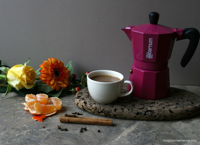 delicately spiced coffee 3 - the pink rose bakery
