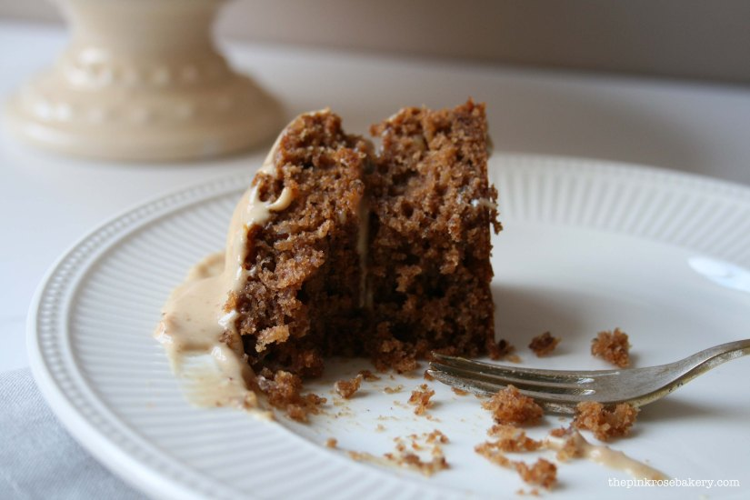 parsnip & pecan cake 4 - the pink rose bakery