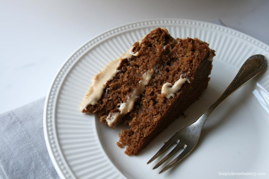 parsnip & pecan cake 5 - the pink rose bakery
