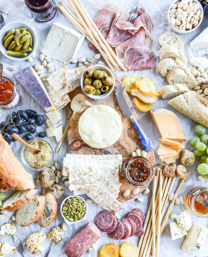 How to make an amazing cheese plate.