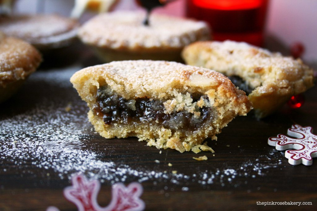 frangipane mince pies 1 - the pink rose bakery