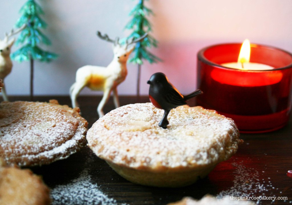 frangipane mince pies 2 - the pink rose bakery