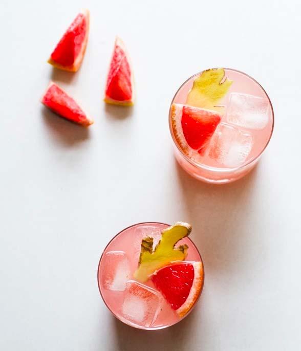 Grapefruit Ginger Cocktail