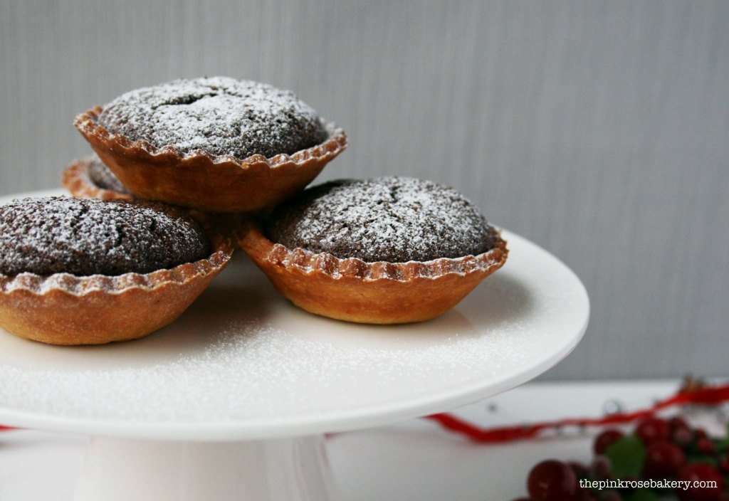The Pink Rose Bakery | Chocolate Pear Tarts 2