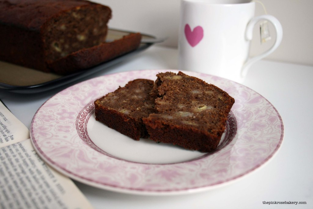 Banana Bread {gluten free} 2 | The Pink Rose Bakery