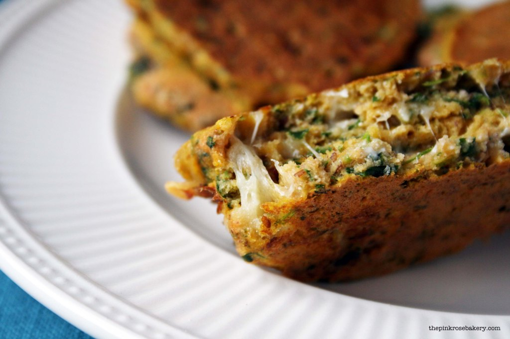 Carrot, Spinach & Cheese Buckwheat Pancakes 3 | The Pink Rose Bakery