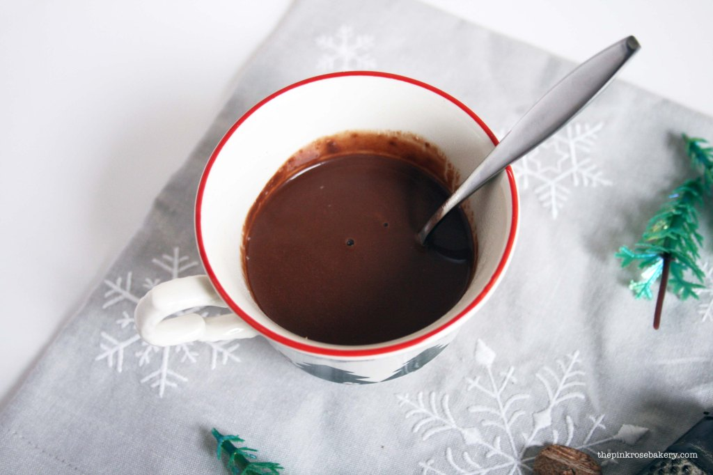 Simple Hot Chocolate 1 | The Pink Rose Bakery