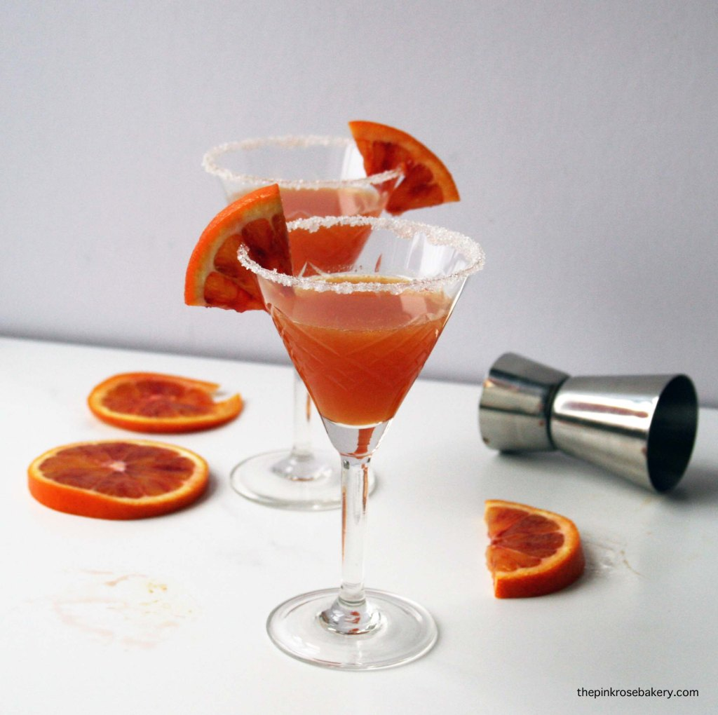 blood orange sidecar 1 | the pink rose bakery
