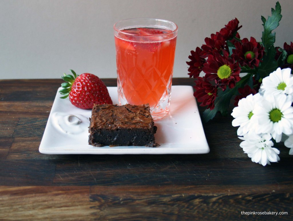 chocolate brownie {gluten free} & cherub's cup | the pink rose bakery