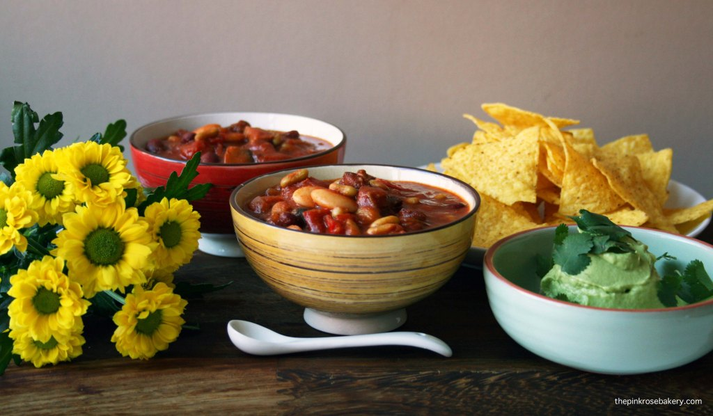 chorizo & 3 bean stew 3 | the pink rose bakery