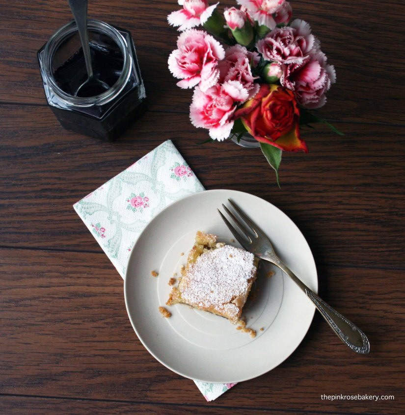 Bakewell Square {gluten free} 1 | Pink Rose Bakery