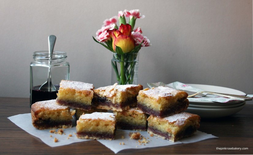 Bakewell Square {gluten free} 4 | Pink Rose Bakery